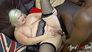 AgedLovE Mature Lacey Starr Fucks Handy Black Guy