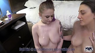 Sex Ed for Teen Nyx with Mom and Parent Part 3