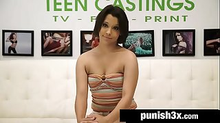 19 Years Old Waitress On A Audition Couch - Penny Nickles