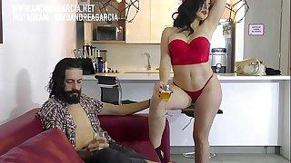 Haciendo películas porno con Andrea Garcia y Cristian Cipriani