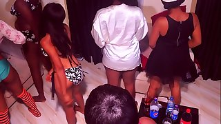 10 girls 1 dude orgy party