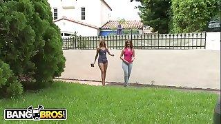 BANGBROS - Check Out These Fine Ass Latinas, Miss Raquel and Nena Linda, With Them Premium Nalgas