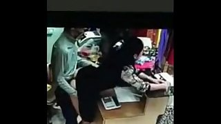 india shop prompt fucking record in cctv