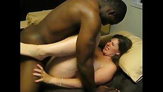 Wife first Big black cock fuck